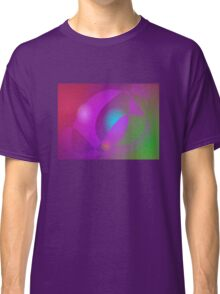 Blue Egg in the Purple Basket Classic T-Shirt
