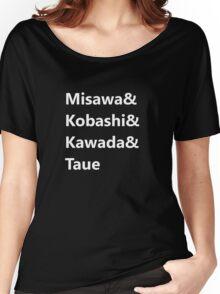 Misawa & Kobashi & Kawada, & Taue Women's Relaxed Fit T-Shirt