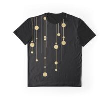 Black and Gold Graphic T-Shirt