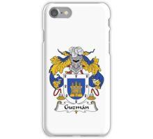 Guzman Coat of Arms/Family Crest iPhone Case/Skin