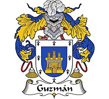 Guzman Coat of Arms/Family Crest Photographic Print
