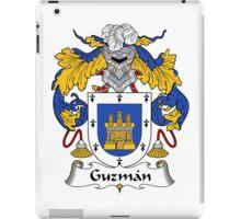 Guzman Coat of Arms/Family Crest iPad Case/Skin