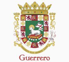 Guerrero Shield of Puerto Rico Kids Tee
