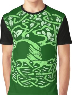 Celtic Tree of Life Graphic T-Shirt