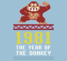 Donkey Kong Gamer tshirt Kids Tee