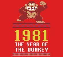 Donkey Kong Gamer tshirt One Piece - Short Sleeve