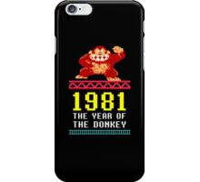 Donkey Kong Gamer tshirt iPhone Case/Skin