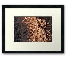 Blotchy Branches Framed Print