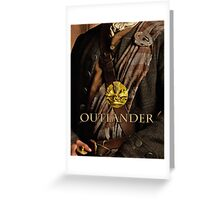 Outlander/Title & Thistle  Greeting Card
