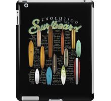 Men's Surfboard Evolution iPad Case/Skin
