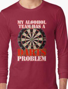 My Alcohol Team Darts Long Sleeve T-Shirt