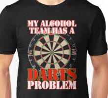 My Alcohol Team Darts Unisex T-Shirt