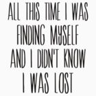 I Was Finding Myself by PatiDesigns