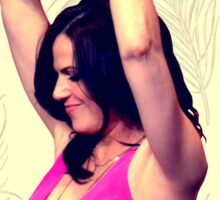 Lana Parrilla dancing Sticker