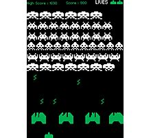 Invaders Photographic Print