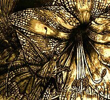Iron Butterfly - Gold by julieannart