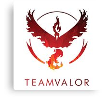 Team Valor - Pokemon GO Canvas Print