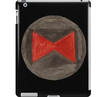 black widow (watercolor) iPad Case/Skin