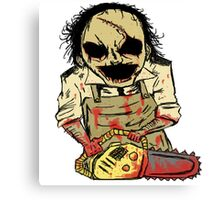 Leatherface. The Texas Chainsaw Massacre Canvas Print