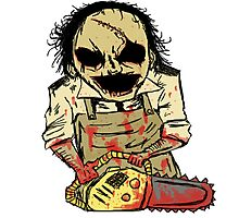 Leatherface. The Texas Chainsaw Massacre Photographic Print