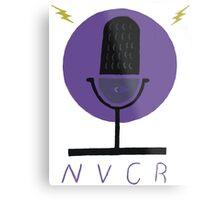 Night Vale Community Radio Metal Print