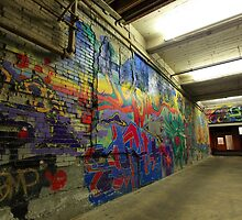 Graffiti Downtown Boise, ID by AFaulk