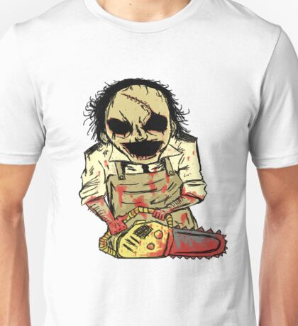 Leatherface. The Texas Chainsaw Massacre Unisex T-Shirt