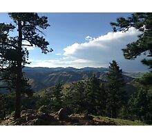 Rocky Mountains Photographic Print