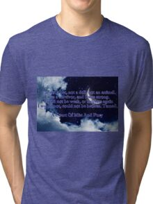 A Court of Mist and Fury Quote Tri-blend T-Shirt