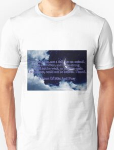 A Court of Mist and Fury Quote Unisex T-Shirt