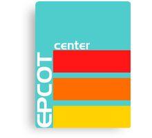 Epcot Center Turquoise Design  Canvas Print