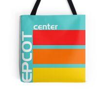 Epcot Center Turquoise Design  Tote Bag
