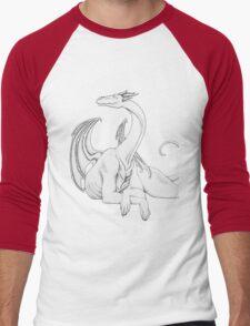 Dragon in Light Men's Baseball ¾ T-Shirt