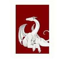 Dragon in Light Art Print