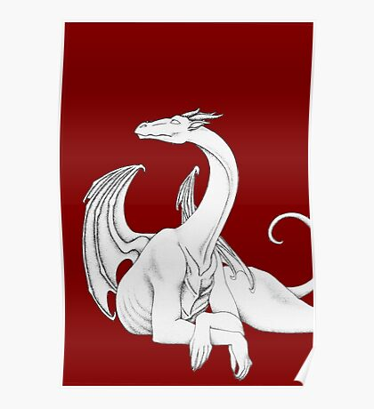 Dragon in Light Poster