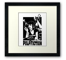 -TARANTINO- Pulp Fiction Cover Framed Print