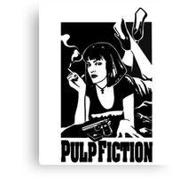 -TARANTINO- Pulp Fiction Cover Canvas Print