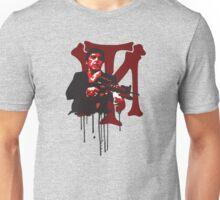 -MOVIES- Tony Montana Bloody Logo Unisex T-Shirt