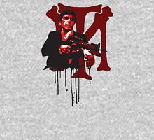-MOVIES- Tony Montana Bloody Logo Unisex T-Shirt