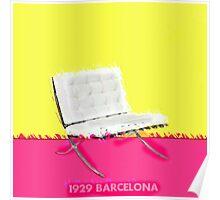 Barcelona Chair Poster