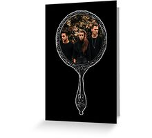 PVRIS in mirror Greeting Card