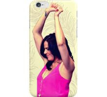 Lana Parrilla dancing iPhone Case/Skin
