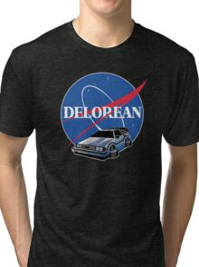 -MOVIES- Back To The Future Nasa Style Tri-blend T-Shirt