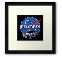 -MOVIES- Back To The Future Nasa Style Framed Print