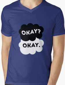 "TFIOS - Maybe ""Okay"" will be our ""always"". Mens V-Neck T-Shirt"