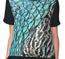 Shimmer and Scales Chiffon Top
