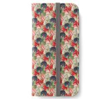 Sweet pea Flowers iPhone Wallet/Case/Skin