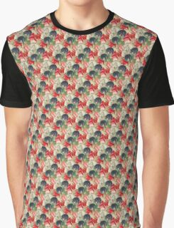 Sweet pea Flowers Graphic T-Shirt