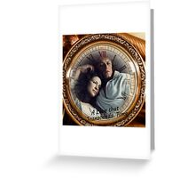 Jamie & Claire-A love that transcends time. Greeting Card