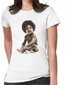 -MUSIC- Notorious Big Baby's Cover Womens Fitted T-Shirt